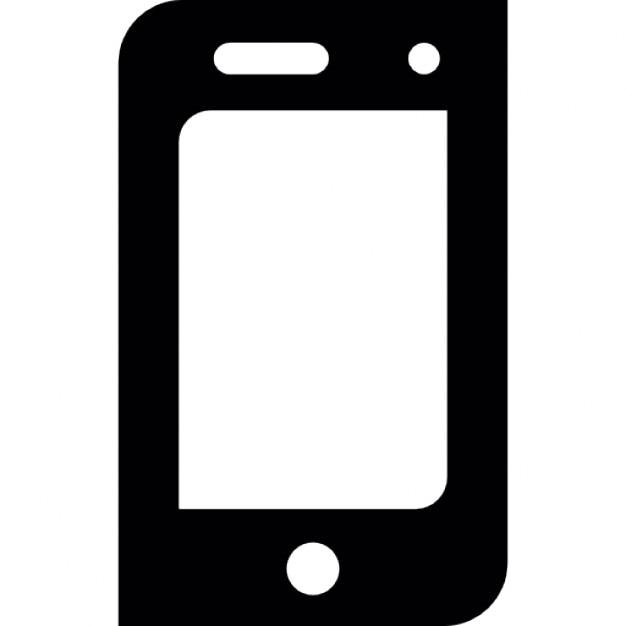 smartphone screen icons