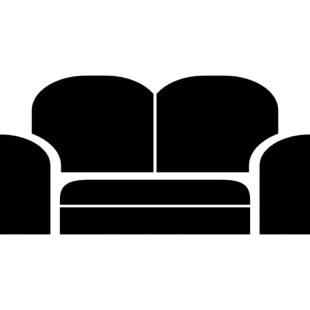People on chairs vector silhouettes Vector  Free Download