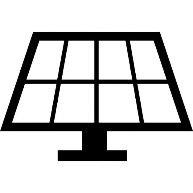 Solar Panel Icons Free Download