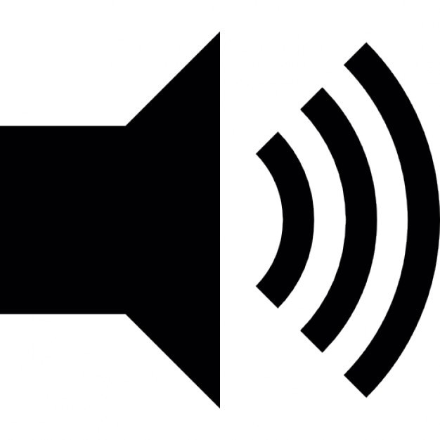 speakers clipart png. speaker with maximum sound free icon speakers clipart png