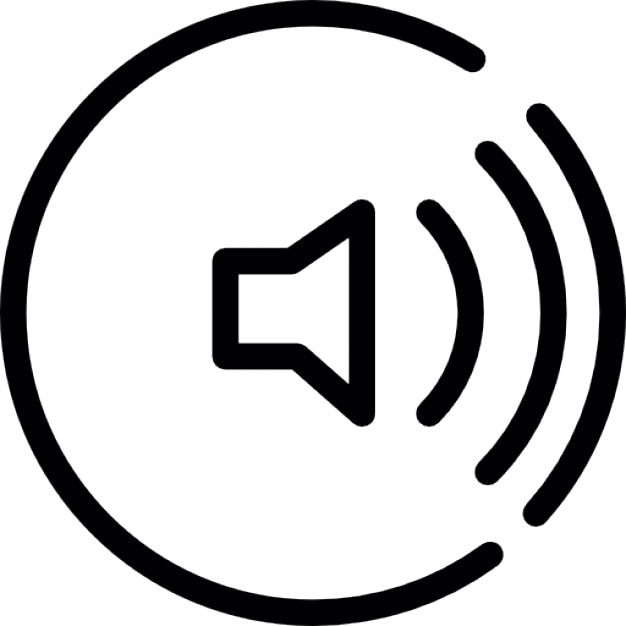 Speaker with sound waves thin outline icons free download speaker with sound waves thin outline free icon sciox Gallery