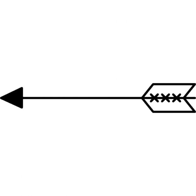 Spear Arrow Free Icon