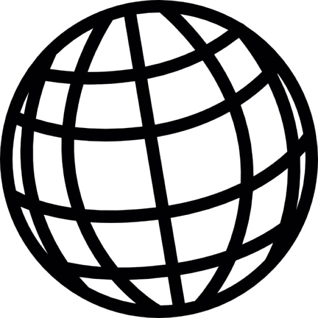 Sphere Grid Free Icon