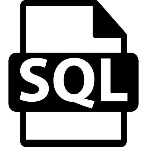 Sql File Format Icons Free Download