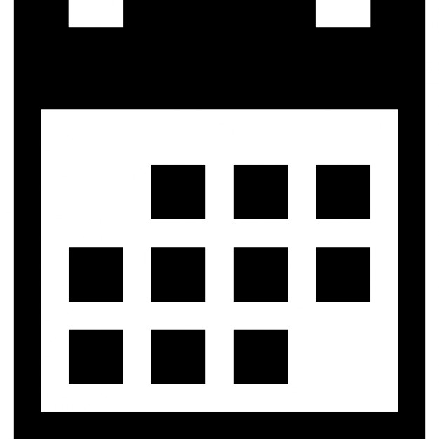 square calendar with blocked dates free icon