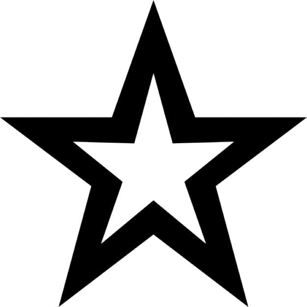 white star icon - photo #34