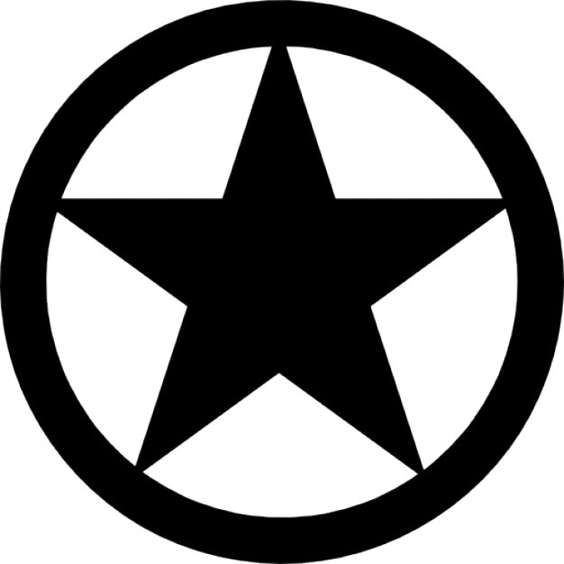 Circle Star Symbol Images Meaning Of Text Symbols