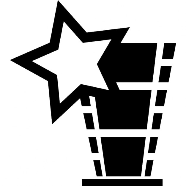 Star movie trophy Icons | Free Download