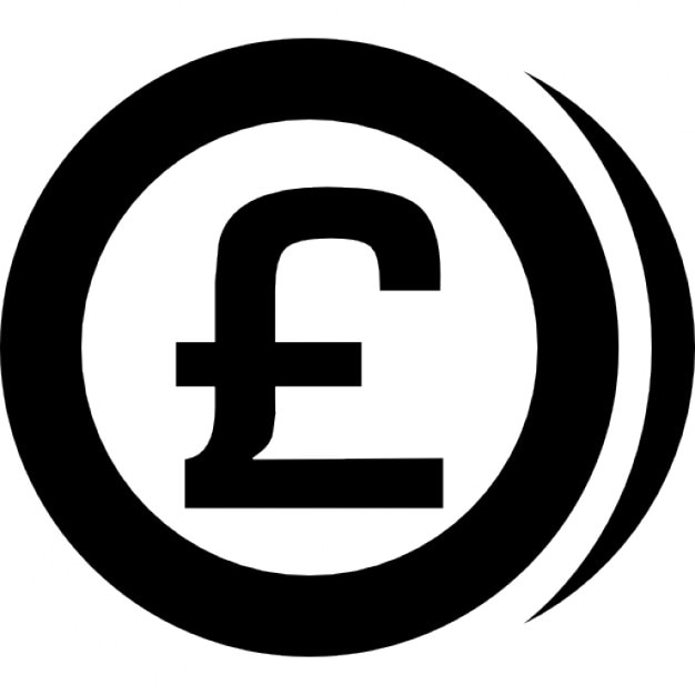 Sterling Pounds Coin Icons Free Download