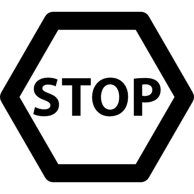 Stop Sign Variant Icons Free Download