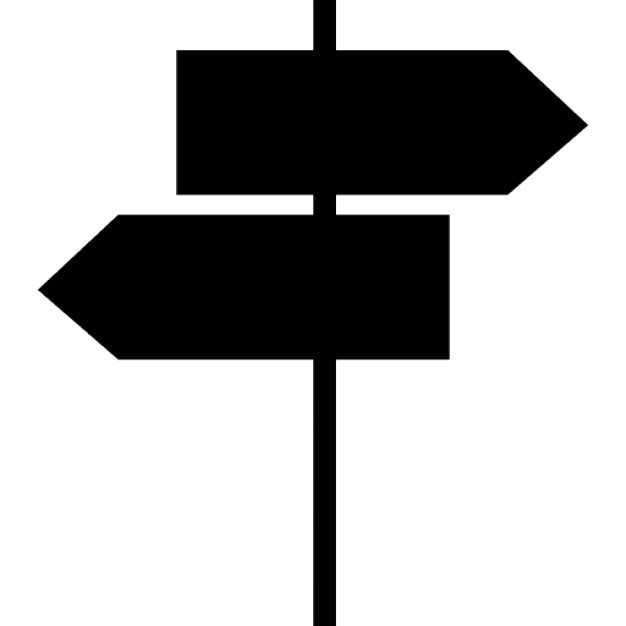 street signals black arrows shapes ios 7 symbol icons free download