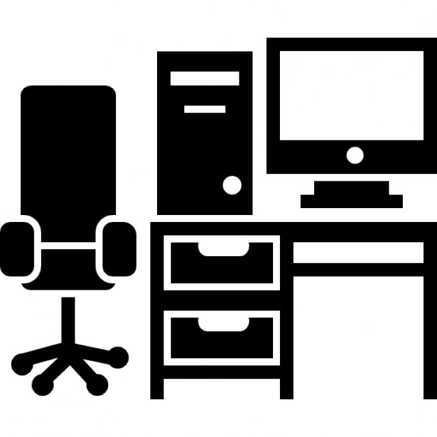 Image result for office desk icon