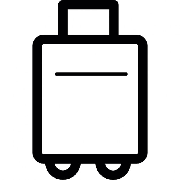 Suitcase wheels Icons