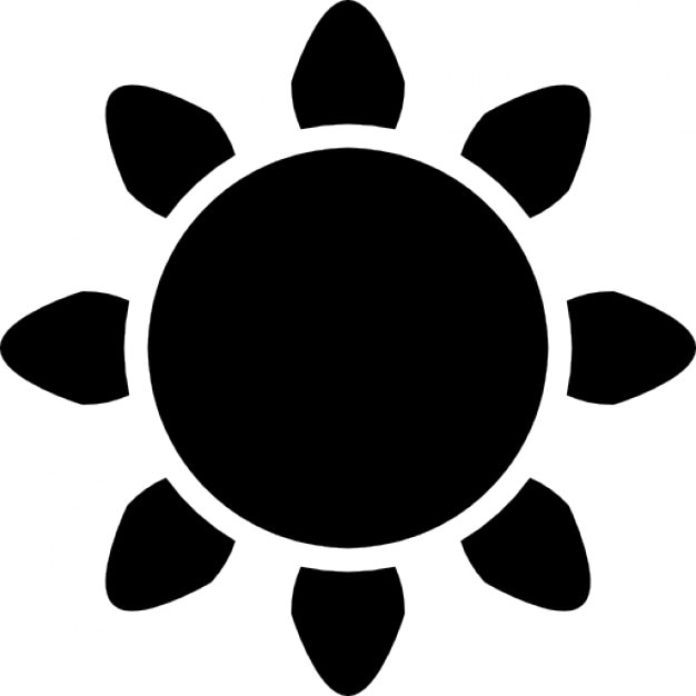 sun with rays silhouette icons free download sun ray vector background sun rays vector free