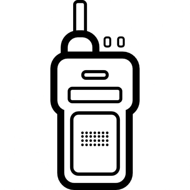 Walkie talkie icons | free download.