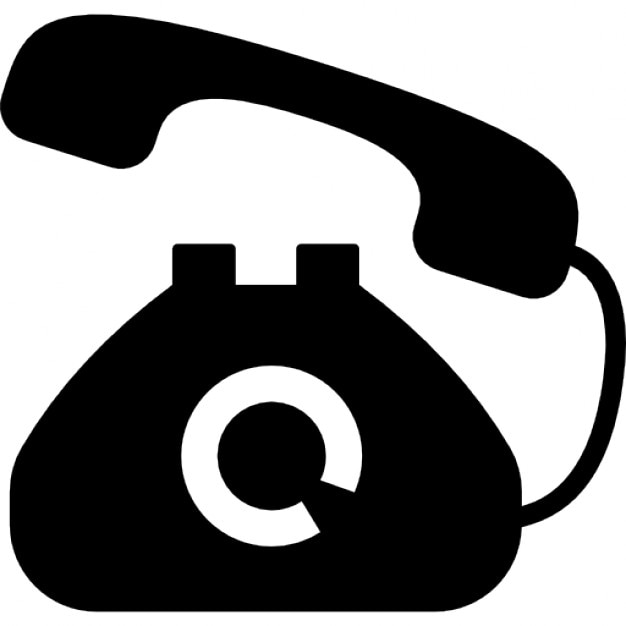 telephone icons free download rh freepik com telephone fax icon vector icône téléphone vectoriel