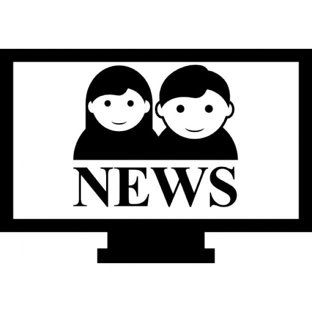 Television News Program Free Icon