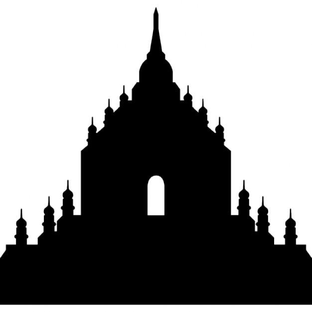 Thatbyinnyu Temple Myanmar Birmania Icons Free Download