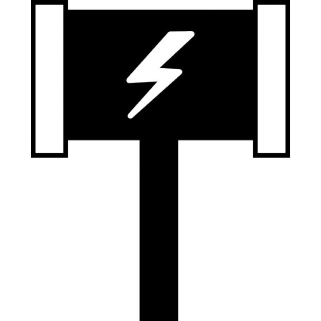 Thors Hammer Ios 7 Interface Symbol Icons Free Download
