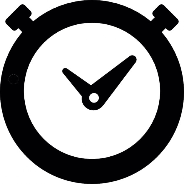 timer round clock outline icons free download