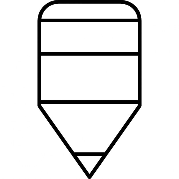 Tiny Pencil Outline Icons Free Download