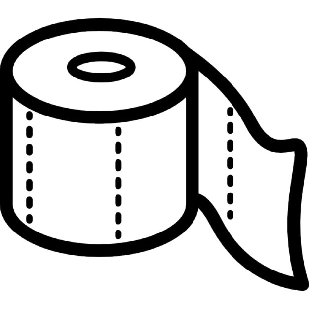 toilet paper roll outline icons free download rh freepik com toilet paper logos us toilet paper brand logos