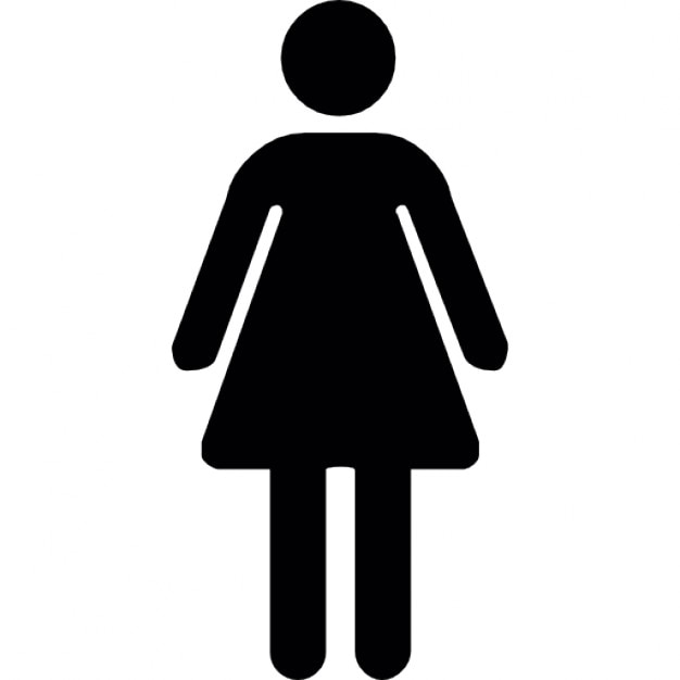Bathroom Sign Vector Free Download toilet woman icons | free download