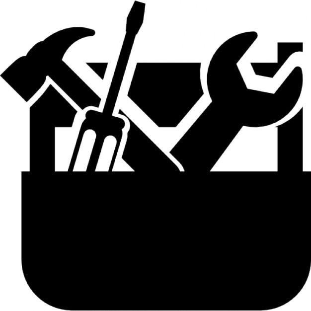 toolbox icon vector. toolbox free icon vector freepik