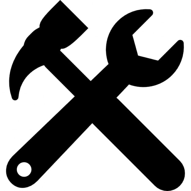 Tools Cross Settings Symbol For Interface Icons Free Download