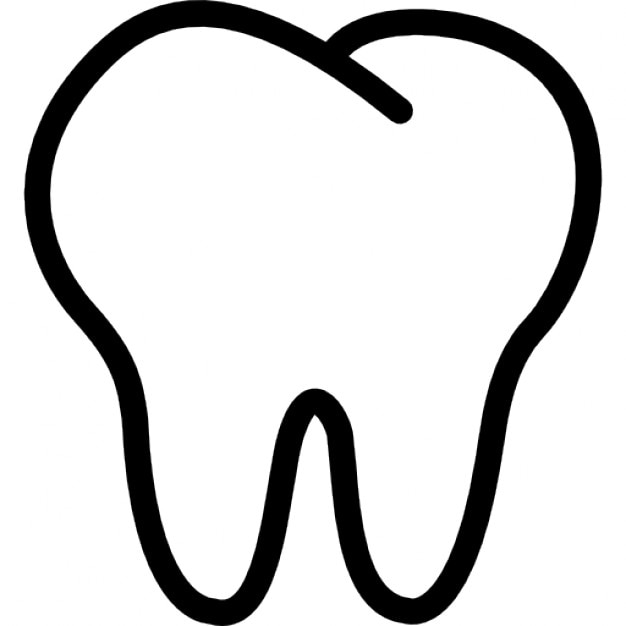 tooth outline icons free download