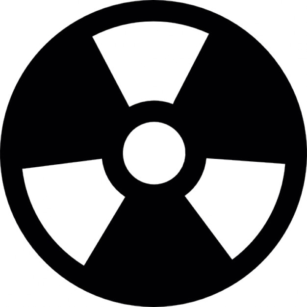 Toxic Symbol Black And White Hazardous Waste Vector...