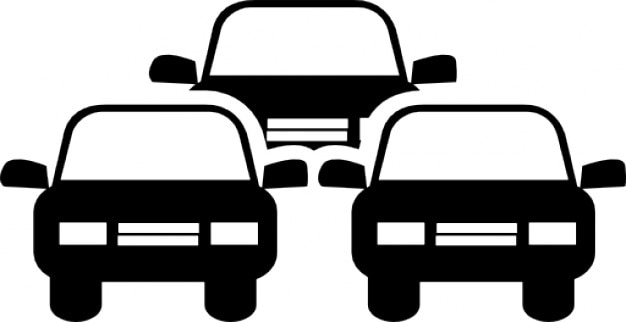 Cars Clip Art >> Traffic jam Icons | Free Download