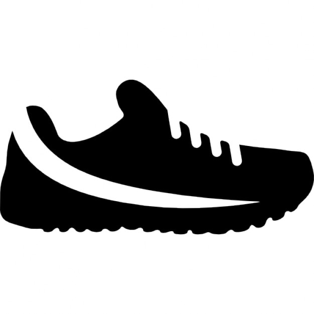 trail running shoe icons free download rh freepik com shoelace vector vector shoes free download