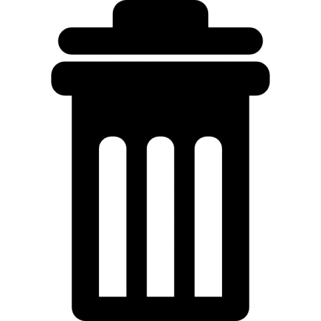 how to change trash bin icon
