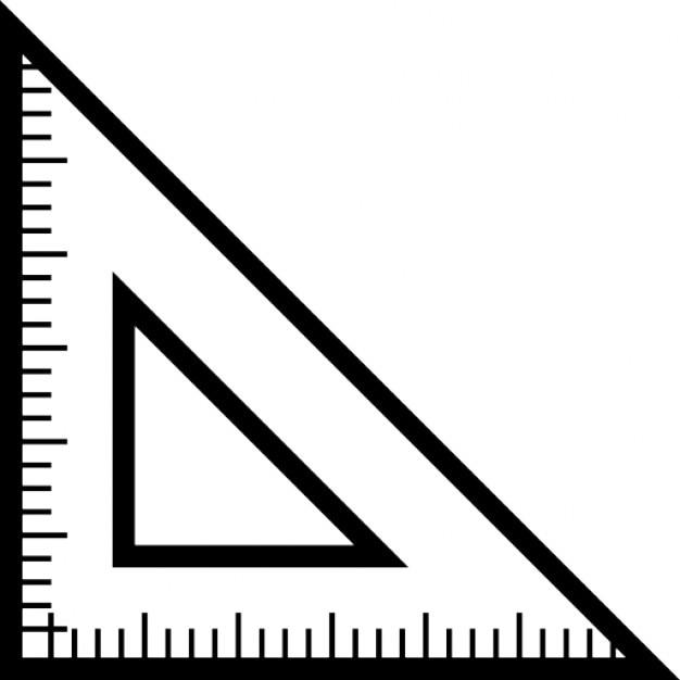 triangular ruler for school icons free download rh freepik com ruler vector image ruler vector cm