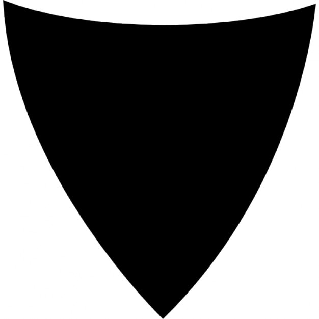 triangular shaped shield icons free download