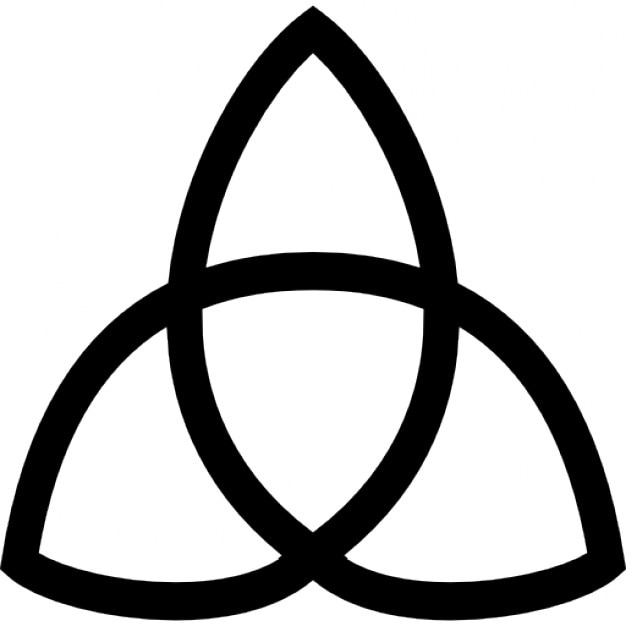 Trinity Symbol Icons Free Download