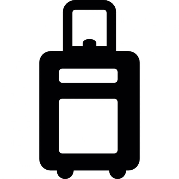 trolley bag icons free download