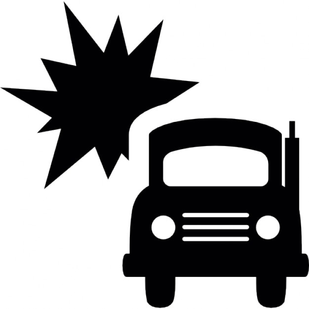 Truck accident Icons | Free Download