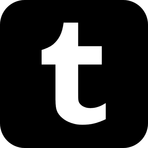 Image result for black tumblr logo
