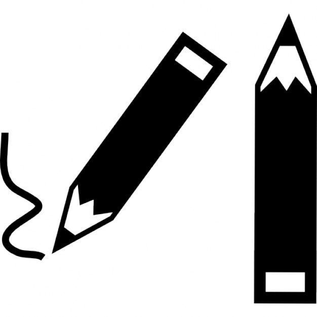 Two pencils Icons | Free Download