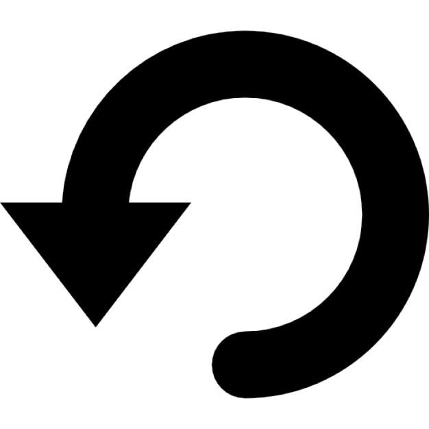 Undo Arrow Symbol Icons Free Download