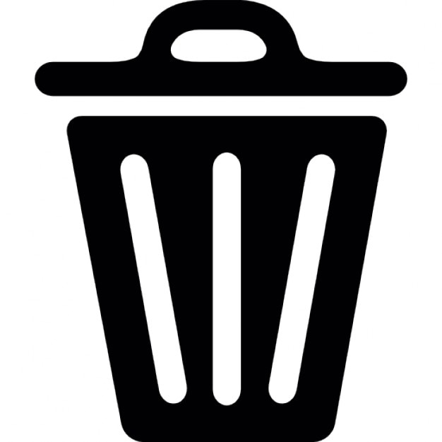 Unopened trash can Icons | Free Download