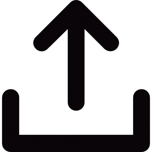 Image result for upload arrow