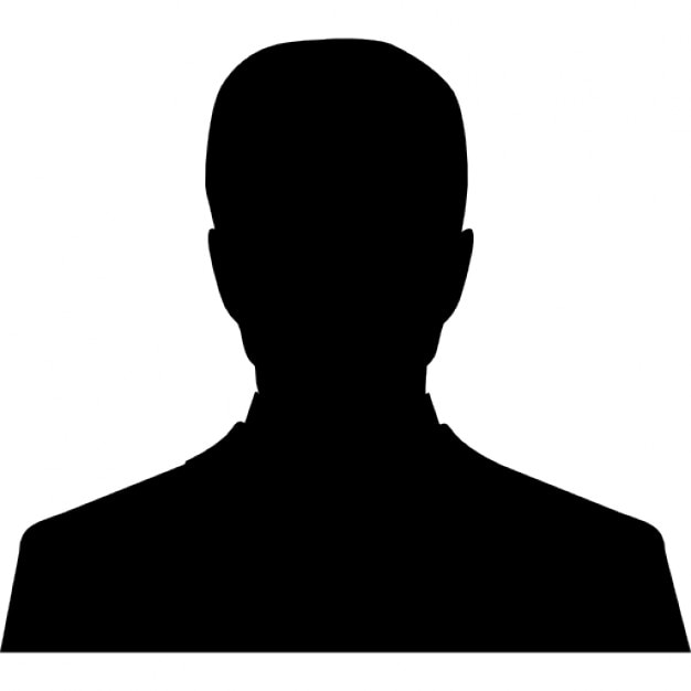 user male silhouette icons free download