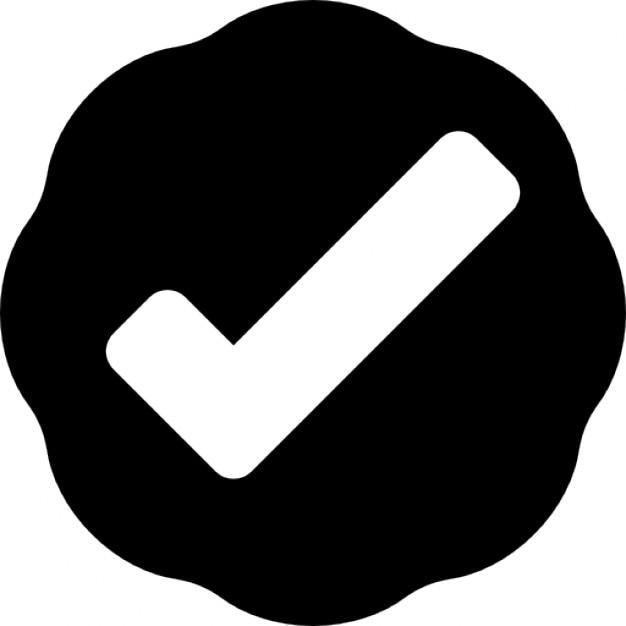 Verification Symbol Icons Free Download