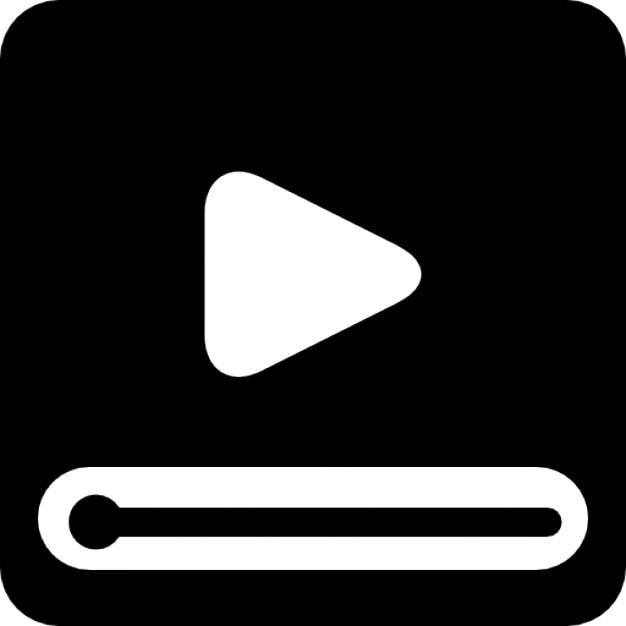 video screen with play button icons free download