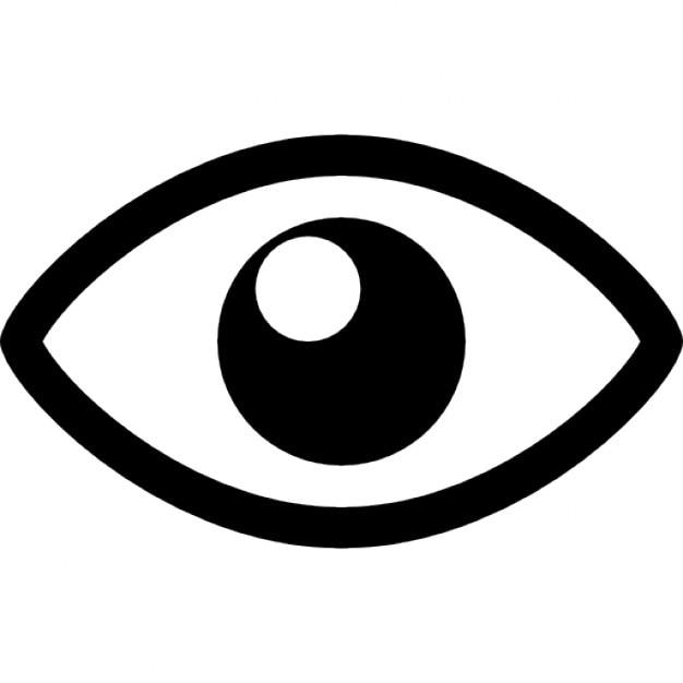 View Eye Interface Symbol Icons Free Download