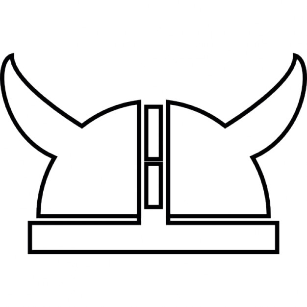 Viking Helmet Ios 7 Interface Symbol Icons Free Download