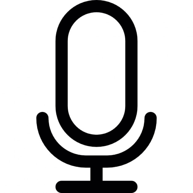 Voice Mic  Ios 7 Interface Symbol Icons